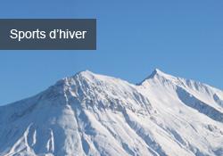 Vacances au ski et sports d'hiver