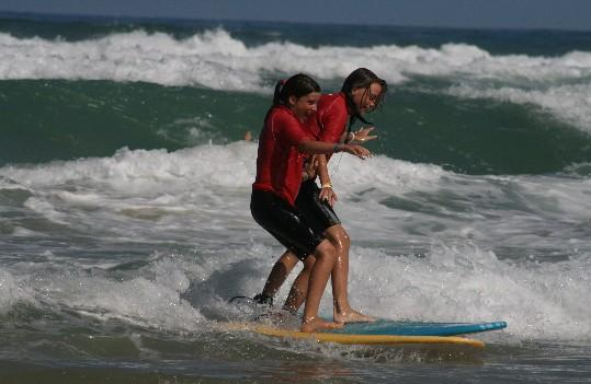initiation, stage de surf et de stand up paddle